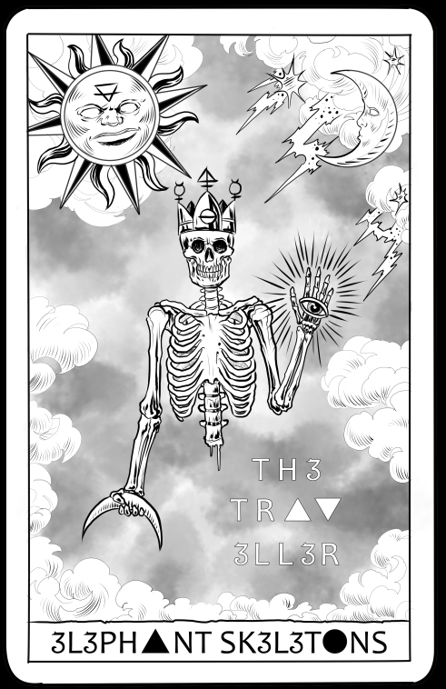 Elephant Skeletons The Traveller Tarot